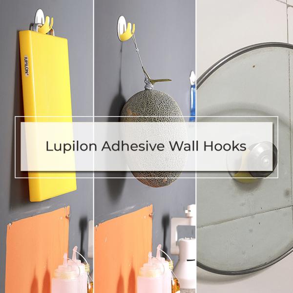 wall hooks 600x600 - Iupilon Adhesive Wall Hooks