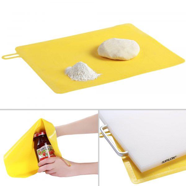 Untitled 1 600x600 - Iupilon Silicone Pastry Mat - Yellow